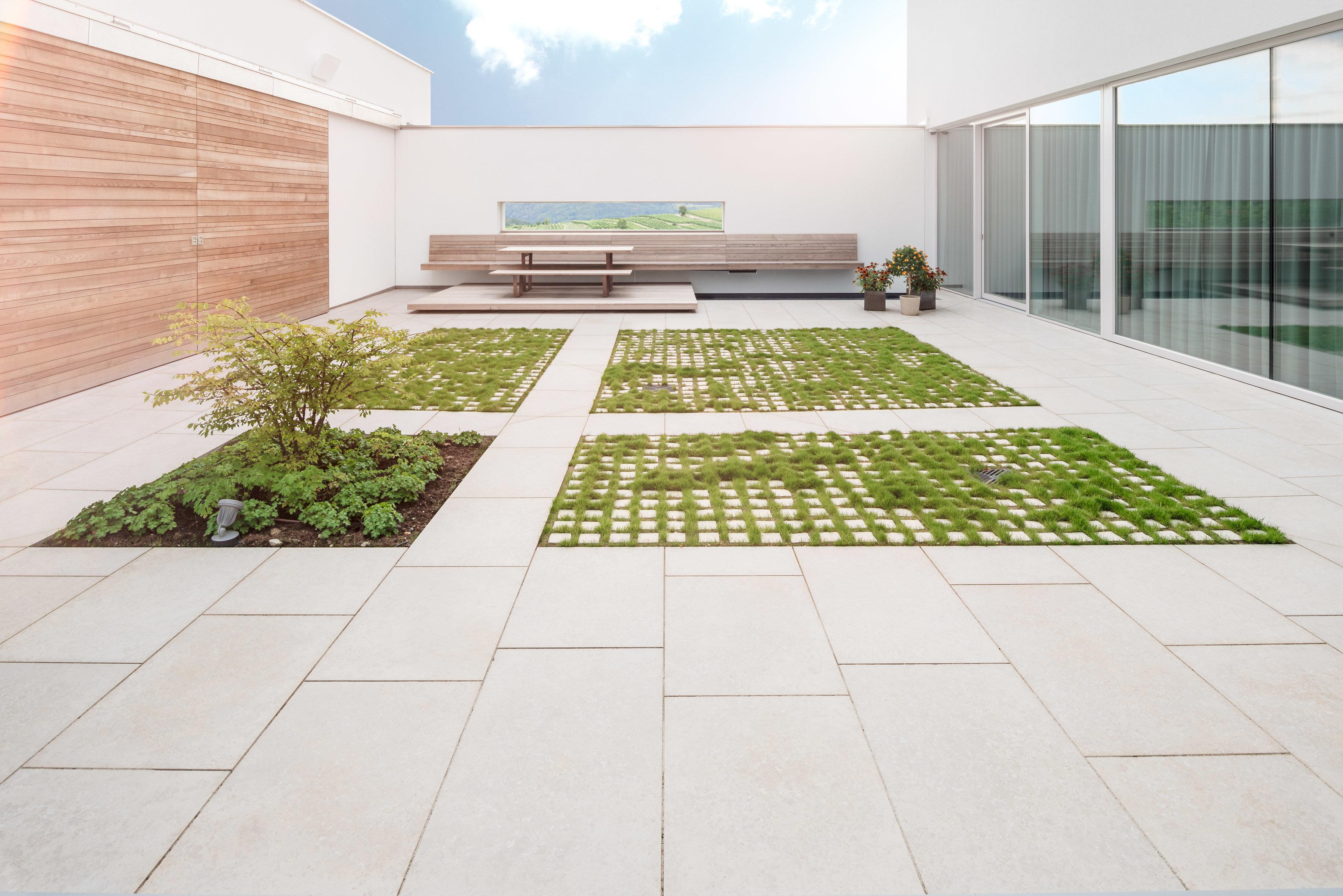 Terrassenplatten aus Kanfanar
